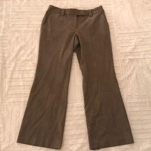 ANN TAYLOR LOFT Mushroom Julie Dress Pants 6P